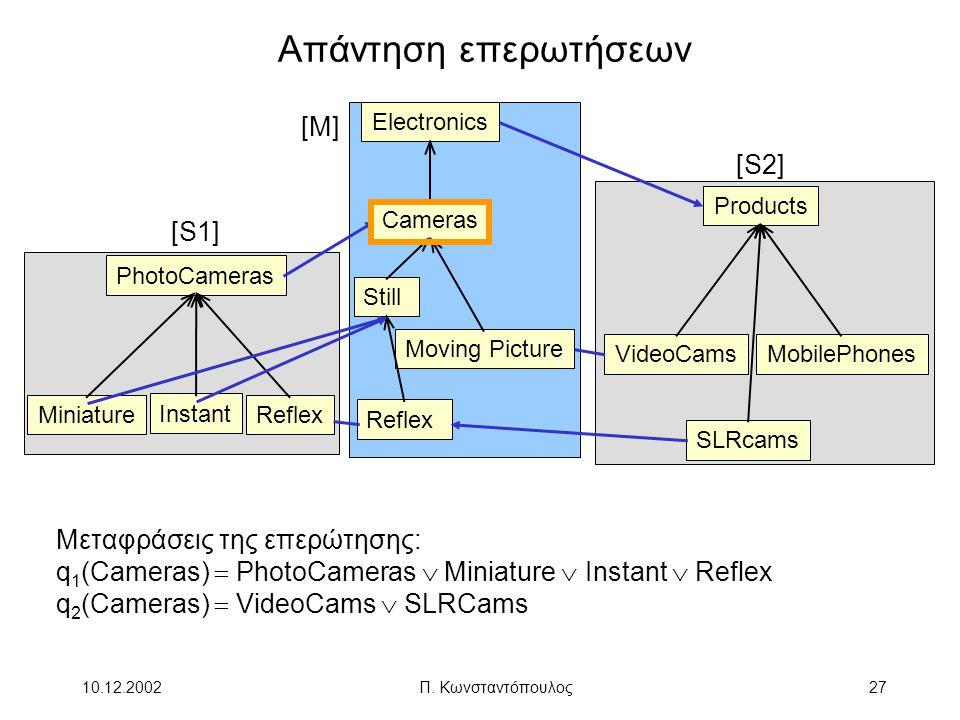 Απάντηση επερωτήσεων [M] [S2] [S1] Μεταφράσεις της επερώτησης: